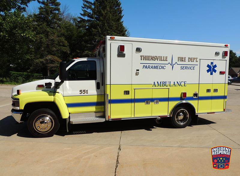 Thiensville Fire Dept. Ambulance 551
