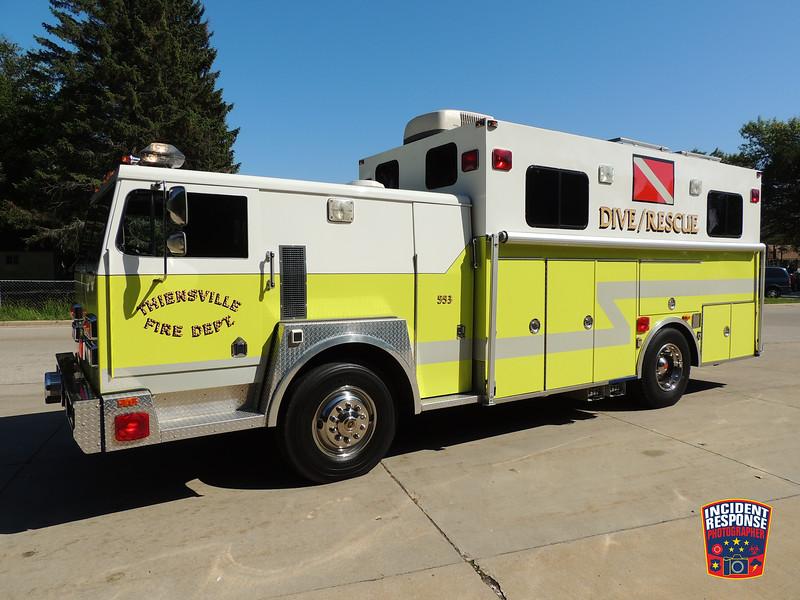 Thiensville Fire Dept. Rescue 553