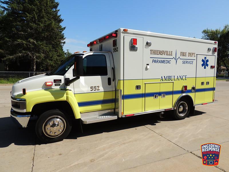 Thiensville Fire Dept. Ambulance 552