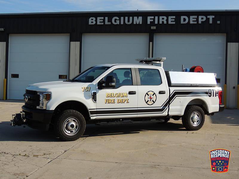 Belgium Fire Dept. Brush Truck 757