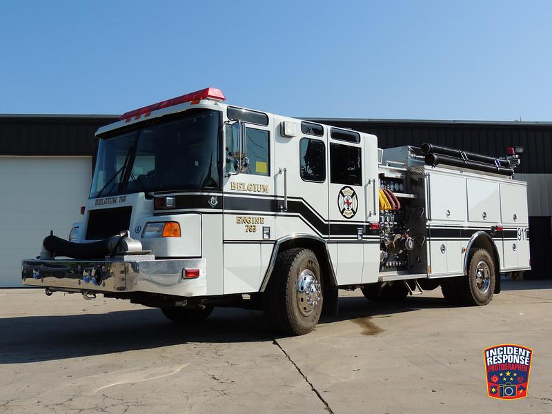 Belgium Fire Dept. Engine 763