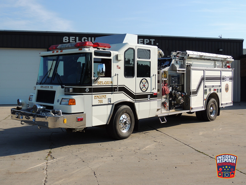 Belgium Fire Dept. Engine 761