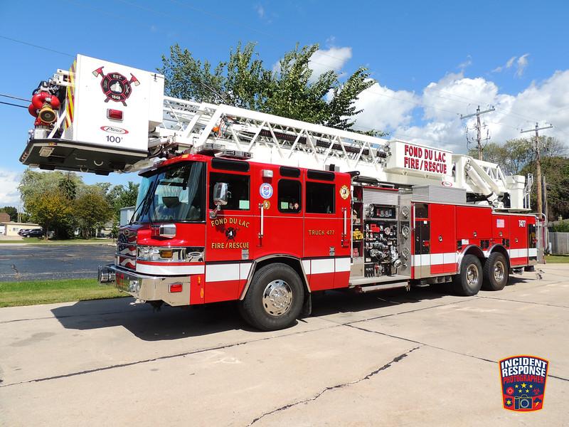 Fond du Lac Fire Dept. Truck 477