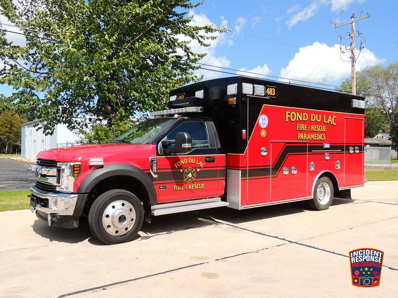 Fond du Lac Fire Dept. Ambulance 483