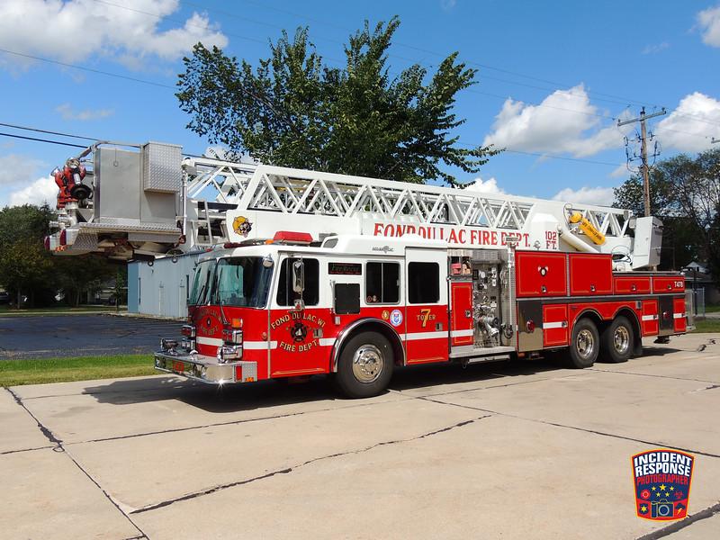 Fond du Lac Fire Dept. Tower Ladder 7