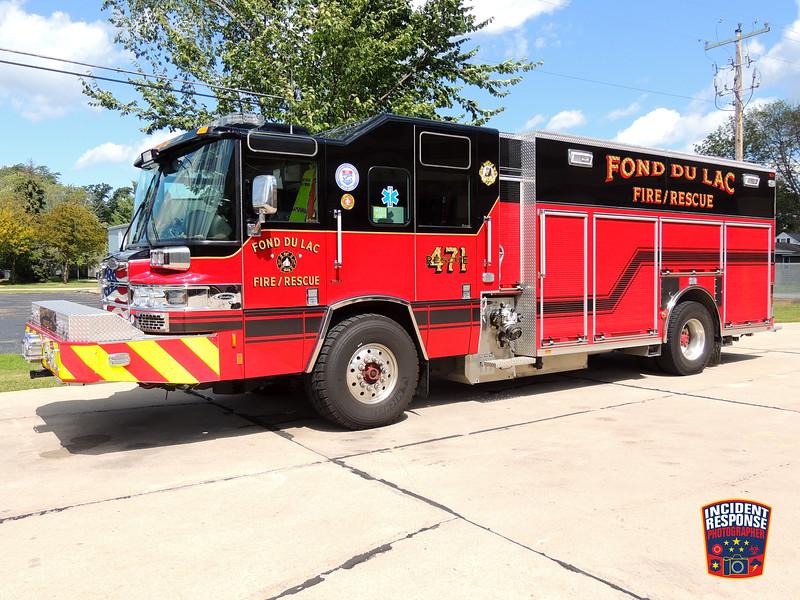 Fond du Lac Fire Dept. Rescue 471