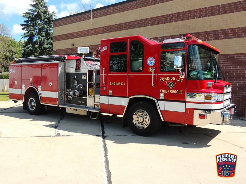 Fond du Lac Fire Dept. Engine 474