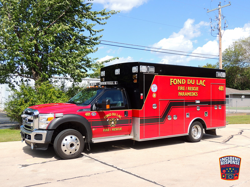 Fond du Lac Fire Dept. Ambulance 481