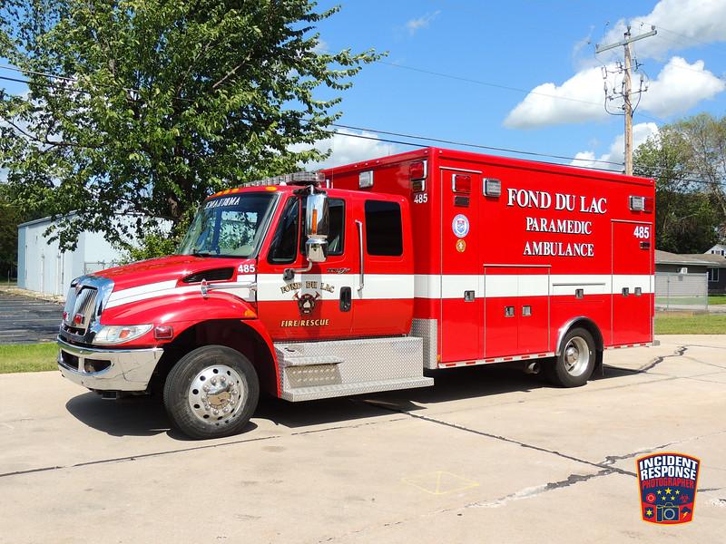 Fond du Lac Fire Dept. Ambulance 485