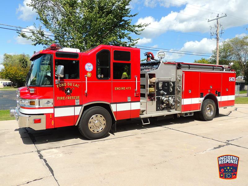 Fond du Lac Fire Dept. Engine 473