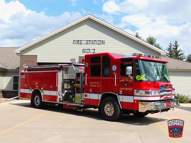 Fond du Lac Fire Dept. Engine 472