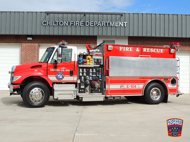 Chilton Fire Dept. Engine 104
