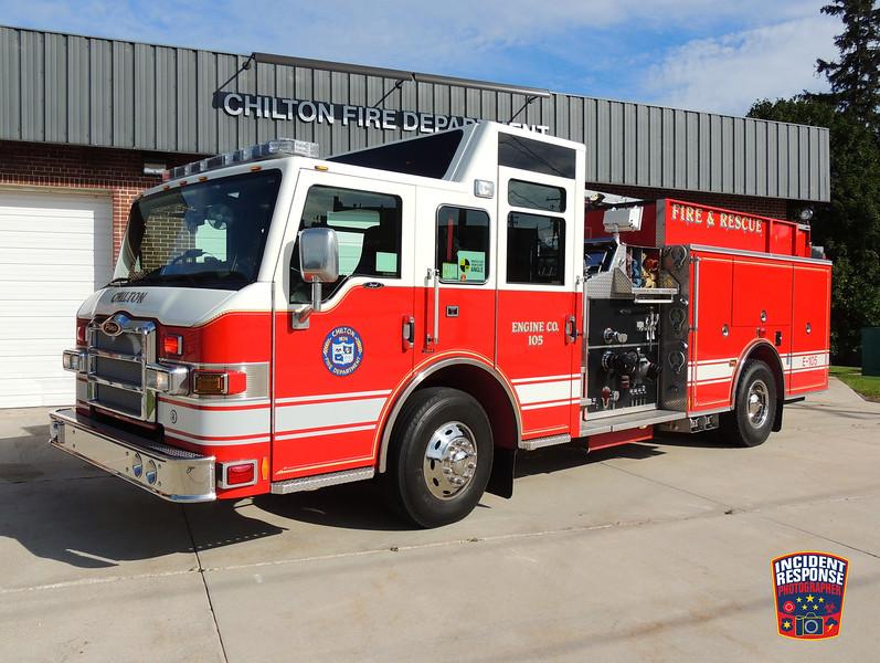 Chilton Fire Dept. Engine 105