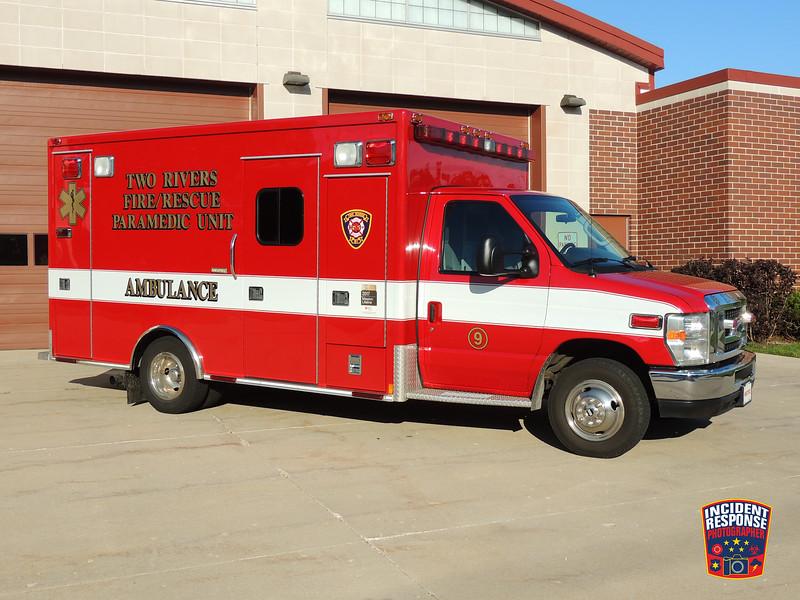 Two Rivers Fire Dept. Ambulance 9