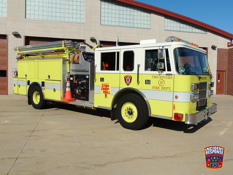 Two Rivers Fire Dept. Engine 8