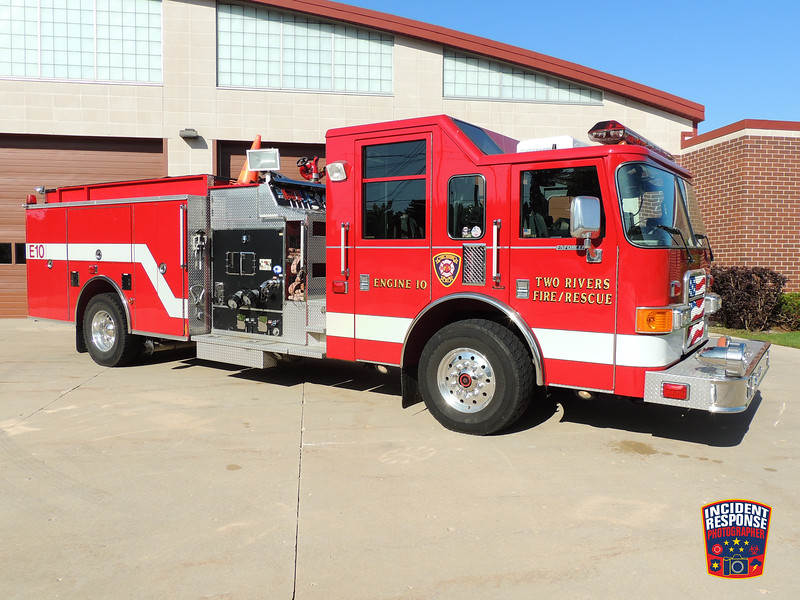 Two Rivers Fire Dept. Engine 10
