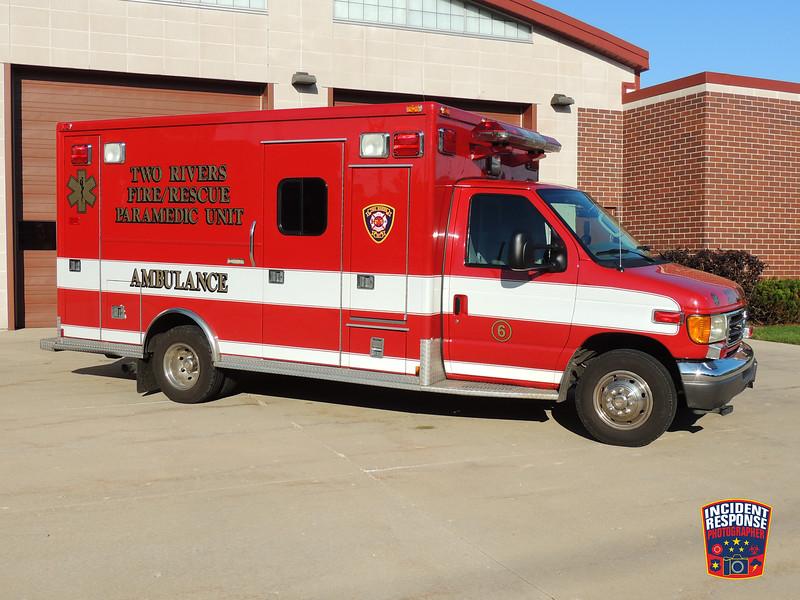 Two Rivers Fire Dept. Ambulance 61 (reserve)