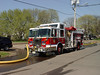 East Franklin Engine 278 operates at a second alarm in the City of New Brunswick