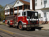 New Brunswick's reserve Engine 12 operates at a second alarm.