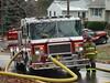 Randolph Fire Engine 32 doing hydrant duty