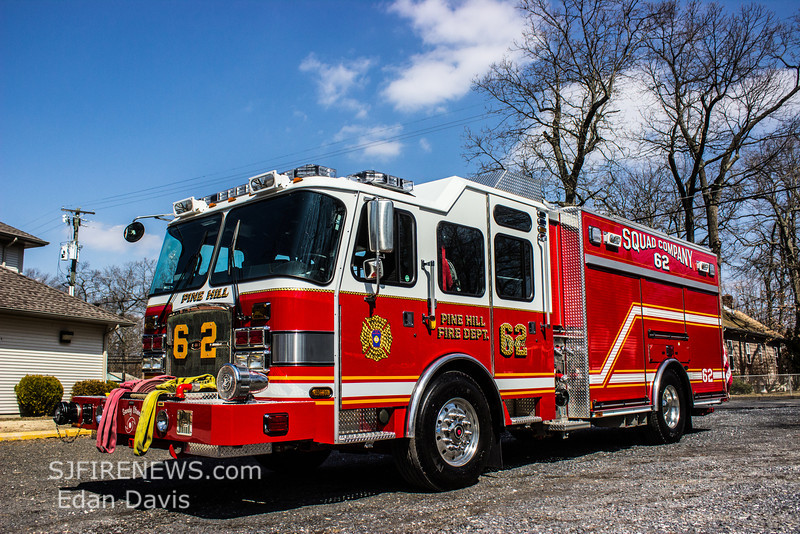 Pine Hill Fire Co  (Camden County NJ) Sta  6-2 - sjfirenews