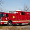 Minquas, New Castle County DE, Rescue 23, 2011 Pierce Arrow XT - 1993 Sausbury, 500-200, (C) Edan Davis, www sjfirenews (2)