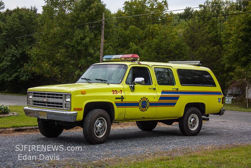 Centerton, Salem County NJ, Utility 23-7a, (C) Edan Davis, www sjfirenews (1)