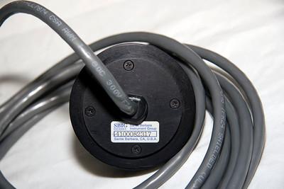 De achterkant van de CCD kop van de ST-4 met serienummer: 4000082317