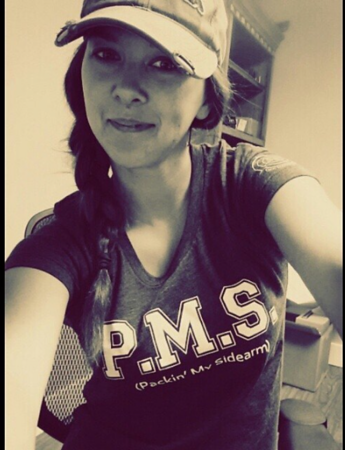 PMS (Packin My Sidearm) Tee / Photo Credit: PWS