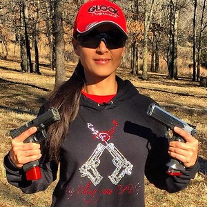 My Bling goes BANG Hoodie / Photo Credit: Tac Girl Michelle