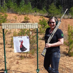Gun Powder is my Spirit Animal black tee / Photo Credit: Tara Stoddard