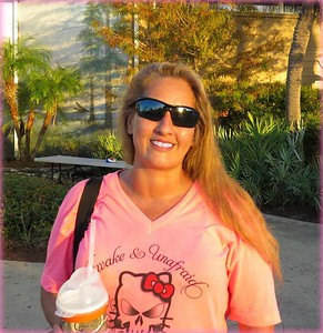 Awake & Unafraid Pink Tee / Photo Credit: TUFF Products Nanci