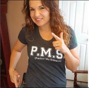 PMS ( Packin' My Sidearm ) Tee