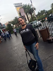PMS tee spotted on the streets of Vegas