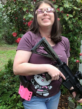 Camo Kitty Pink Edition / Photo Credit: Glock Girls