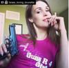 Silly Boys Guns Are For Girls (Original) / Photo Credit: brass_loving_brunette