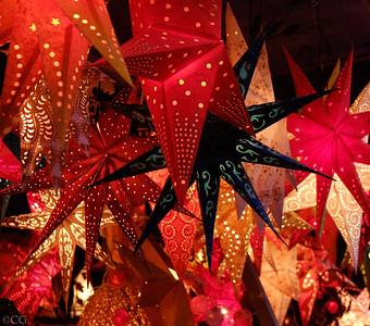 Paper Star Christmas Lanterns