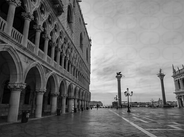 Palazzo Ducale in Monochrome