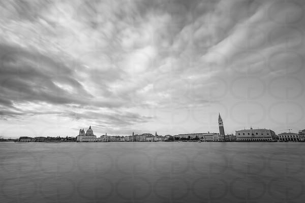 Venice Horizon in Monochrome