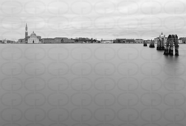 Morning on the Lagoon in Monochrome