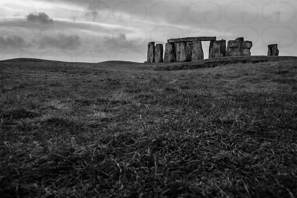 Stonehenge from the North (Monochrome)