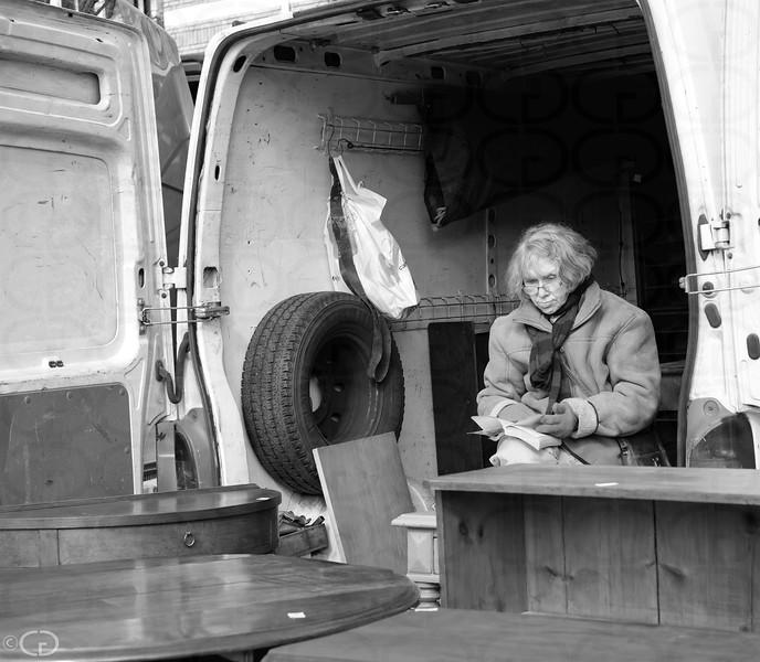 Furniture Dealer and Her Van