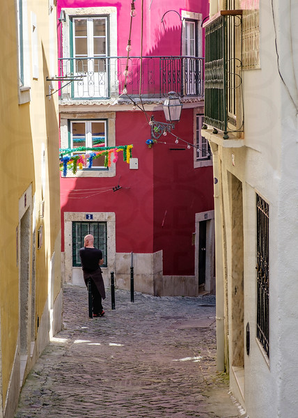 Around the Corner in the Alfama