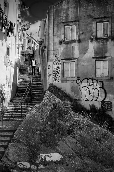 Steps in the Alfama