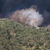 Fire near home in Oak Glen