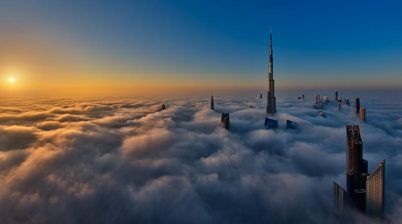 Sunrise on Cloud City