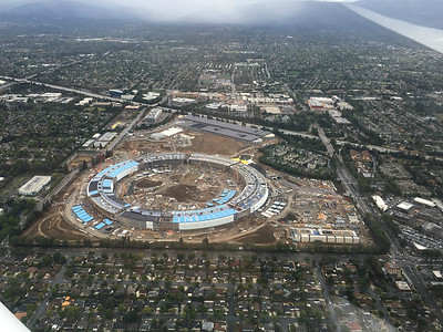 Apple new HQ construction