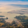 San Francisco Bay Area from 14,500 feet