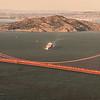 Golden Gate Bridge and Angle Island