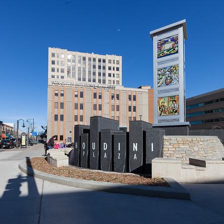 Houdini Plaza 2014